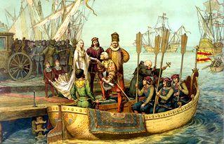 哥伦布的第一次远航