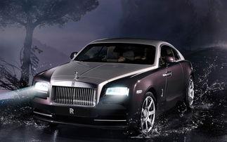 2014款全新劳斯莱斯Wraith高清汽车桌面壁纸
