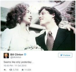 克林顿推特截图