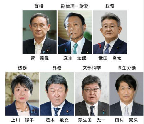 日本新一届内阁名单公布安倍晋三胞弟担任防卫相