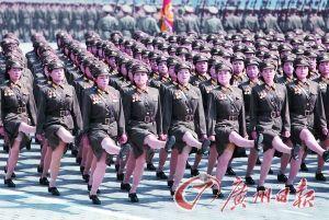 朝鲜阅兵持续约75分钟 金正恩下令提拔71名将军