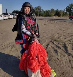 东北女孩创翼装飞行纪录她证明极限运动华人也会玩