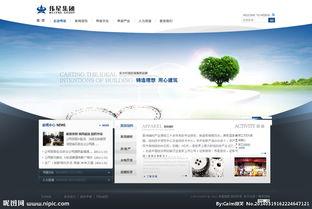 企业 网站 网页图片