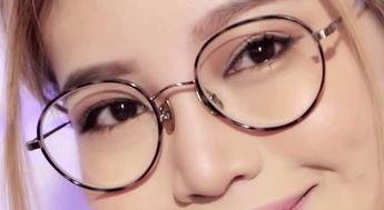 戴眼镜小眼睛怎么化妆