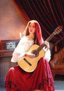 阿尔罕布拉宫的回忆朴信惠弹吉他
