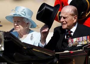英女王伊丽莎白二世和菲利普亲王。
