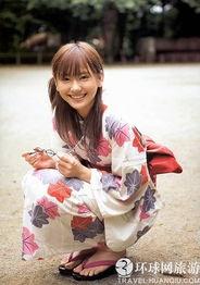 实拍日本人夏天爱穿 浴袍 上街