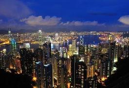 香港夜景热门观赏地点