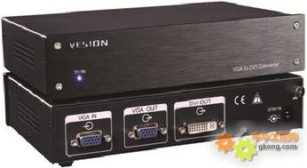 VGA TO DVI 视频转换器