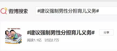 @头条新闻:人大代表林勇建议:1、夫妻应当合休产假,强制男性分担育儿义务.