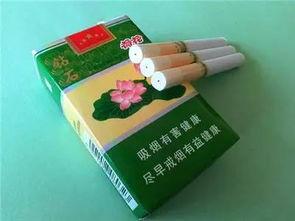 荷花烟价格(荷花香烟多少钱一盒)