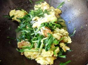 家常炒韭菜鸡蛋