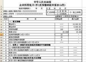 所得税季度预缴会计分录