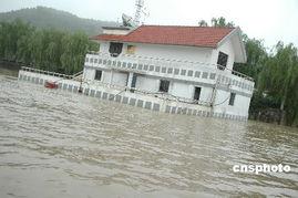 淮河流域普降大到暴雨 两岸受灾严重