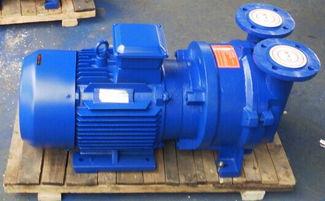 2BV型水环式真空泵工作原理