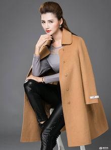 2018年新款双面尼大衣提前预售 反季节销售实惠品牌折扣女装