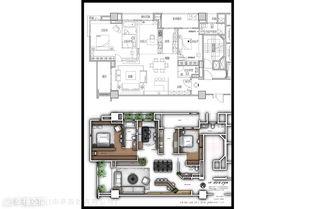 三层双拼带车库农村建房设计图纸