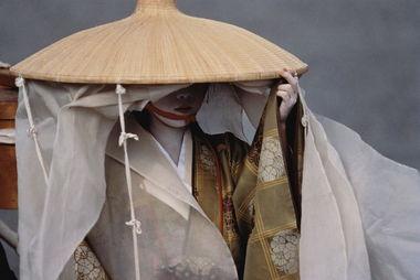 日本红唇艺妓