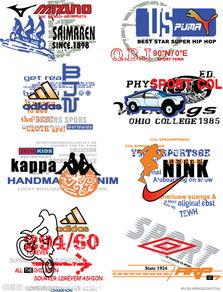 体育品牌标志 运动LOGO设计图片
