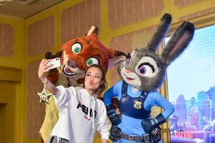 容祖儿与歌迷在香港迪士尼庆生 迪士尼朋友神秘现身送上惊喜