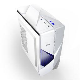 电脑主机机箱 多透台式电脑主机机箱 网吧.0下置 阿里巴巴