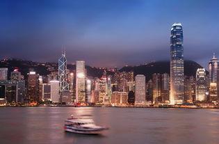 香港星光大道维多利亚港