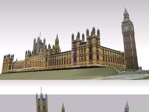 伦敦建筑3D模型设计图下载 图片3.87MB 其他模型库 其他模型
