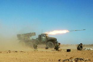 资料图:叙利亚军队在演习.