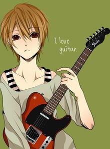 快手好看男生弹吉他