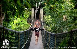 海南三亚原住民槟榔谷图片