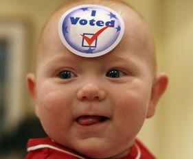 美国大选选民百态