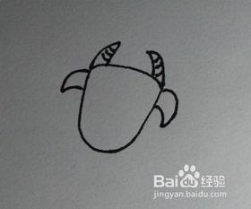 亲子儿童简笔画 牛的画法教程