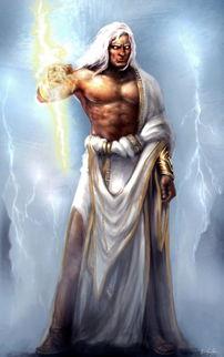 宙斯的武器 雷霆 和埃癸斯的图片.谁有 谢