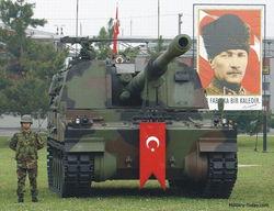 韩国出口到土耳其的k9自行火炮
