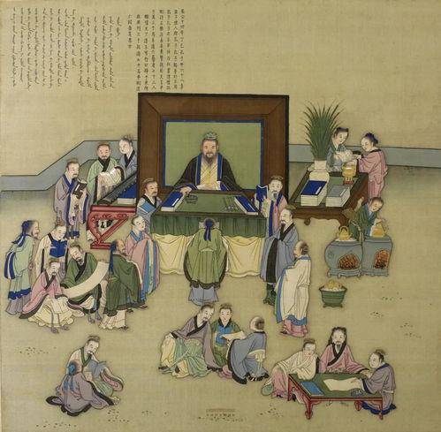 """史书载,孔子周游列国回到鲁国后被尊为""""国老"""",但政治上仍不受重用。"""
