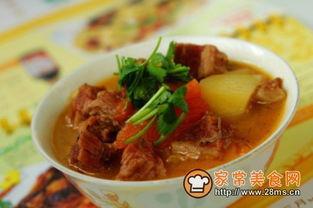 西红柿土豆炖牛肉的家常做法