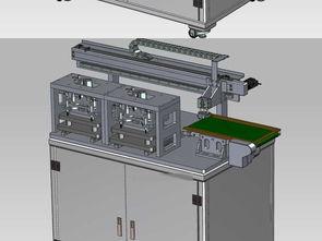 厚度尺寸测量设备设备UG格式设计图下载 图片6.76MB 机械设备库 机械工业