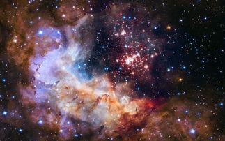 绚丽的宇宙星云高清壁纸高清大图预览2560x1600 高清壁纸下载