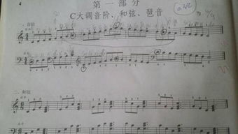 全音阶怎么写C大调