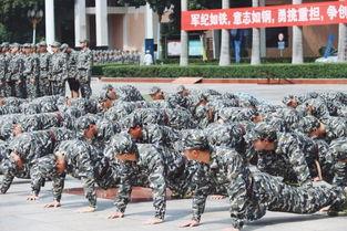 军号嘹亮,气撼乾坤 我校2018级新生军训正式开营