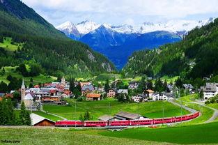 瑞士冰川快车以慢著称