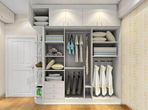 衣柜子里面设计效果图