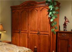 木工实木衣柜价格