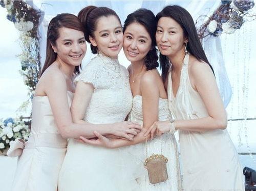 徐若瑄结婚林心如当伴娘