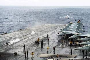 美军航母在南海游弋