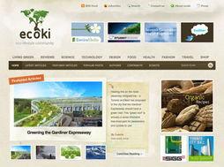 网页设计中使用纹理元素设计的网站
