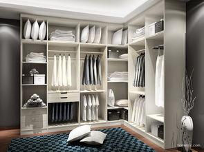 l型衣柜设计