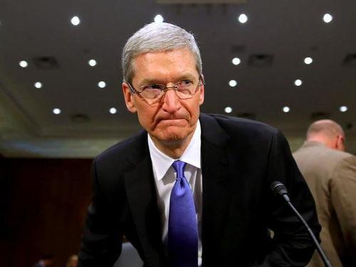 苹果避税指控惹恼库克(图片来自baidu)