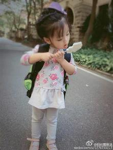 爸爸去哪儿4阿拉蕾走红崔雅涵各种萌照