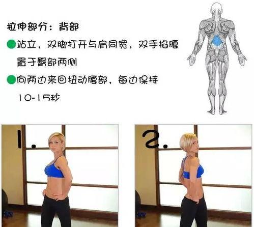 胸肌拉伸方法图解(胸部拉伸方法图)